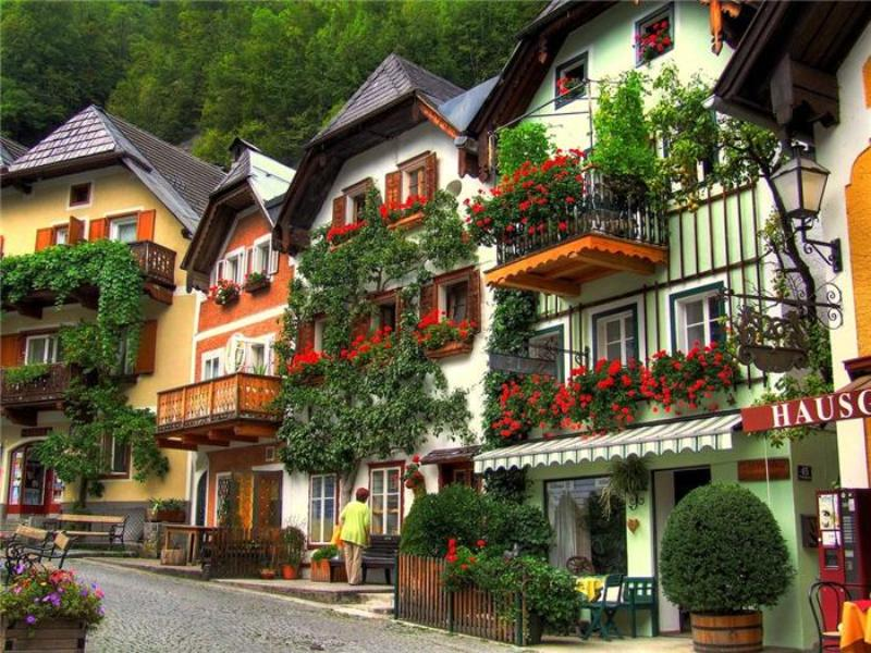 дома в австрии фото