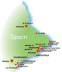 Коста бланка курорты