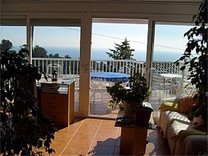 Просторная вилла с видом на море в Тосса-де-Мар