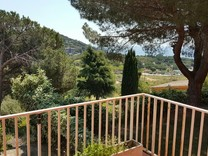 Дом с панорамным видом на море в Sant Vicent de Montalt