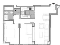 Новая трехкомнатная квартира с отделкой в Барселоне