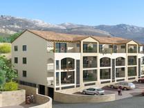 Апартаменты с 1 спальней и видом на море в Бечичах