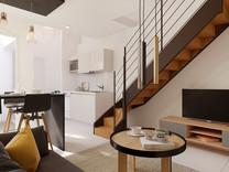 Двухуровневая квартира в секторе Boulevard Dubouchage