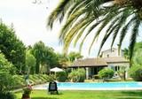 Большая вилла с пышным садом в Антибе