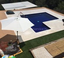 Небольшая вилла с бассейном в районе Lloret Blau, продажа. №37251. ЭстейтСервис.