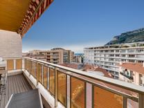 Отремонтированная студия с видом на море в Монако