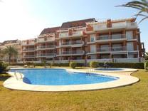 Апартаменты с 2 спальнями с видом на море в Дении