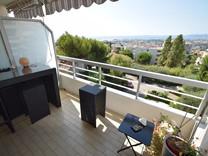 Тихая квартира с видом на море в районе Corniche Fleurie