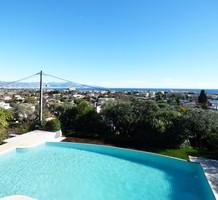Отремонтированная вилла с панорамным видом на море, продажа. №36076. ЭстейтСервис.