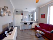 Квартира с хорошим ремонтом в Больё-сюр-Мер