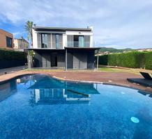 Новый дом с бассейном в Сан-Висенс-де-Монтальт, продажа. №40940. ЭстейтСервис.