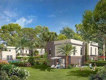 Новый проект в тихом районе Антиб - Semboules