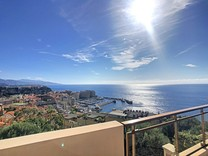 Трёхкомнатная квартира с видом на море и Монако, Кап-дай