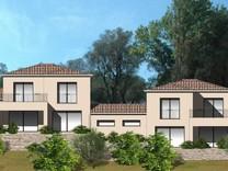 Участок с разрешением на строительство двух вилл в Рокфор-Ле-Пен