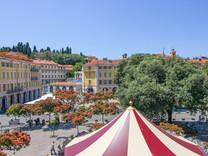 Редкий четырехкомнатный пентхаус на Place Garibaldi