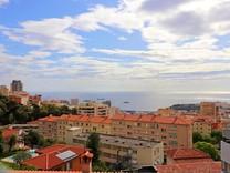 Квартира с прямым видом на море и Монако