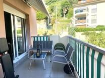 Пентхаус-студия в резиденции с бассейном в Ментоне