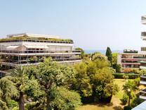 Студия с видом на море в Антибах