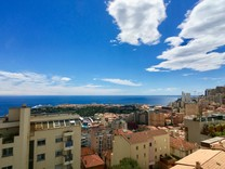 Современные апартаменты с видом на море и Монако