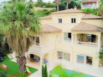 Большой дом с панорамным видом в Ницце