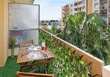 Квартира с боковым видом в 300 метрах от пляжа
