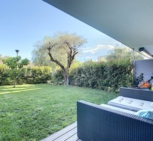 Четырехкомнатная квартира с шикарным садом в Антибе, продажа. №40189. ЭстейтСервис.
