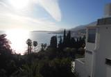 Апартаменты с видом на море в Ментоне