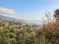 Земля под строительство с видом на море в Ментоне