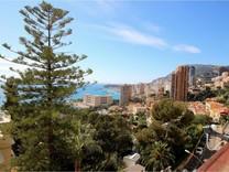 Пентхаус-дуплекс с видом на море и Монте-Карло