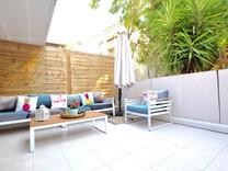 Стильная квартира с двумя террасами в Рикьё