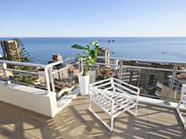 Стильный дуплекс с видом на море и Монако