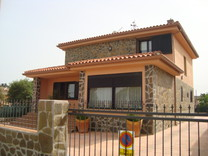 Вилла в жилом комплексе с бассейном в Кальдас-де-Малавелье