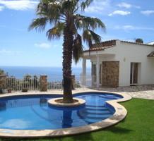 Вилла с полной панорамой моря на холме в Platja d Aro, продажа. №38247. ЭстейтСервис.