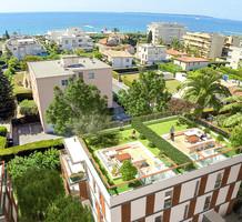 Новые апартаменты в 150-ти метрах от моря в Жуан-Ле-Пен, продажа. №40459. ЭстейтСервис.