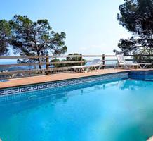 Дом с видом на море в Ллорет Де Мар, урбанизация Serra Brava, продажа. №26277. ЭстейтСервис.