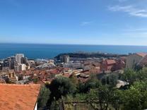 Дуплекс с джакузи, видом на море и Монако в Босолей