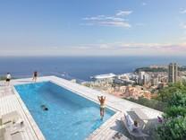 Новая квартира с 180° видом на море, Италию и Монако