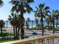 Апартаменты с видом на море рядом с Platja de Ponent