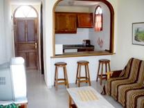 Апартаменты с одной спальней с видом на море в Коста Адехе, район Torviscas Alto