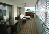 Квартира с двумя спальнями и террасой 50 м2, zona Via Augusta