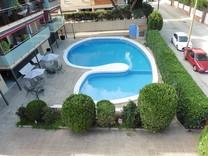 Квартира в резиденции рядом с пляжем в Кастельдефельсе