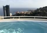 Просторная квартира с видом на море в Босолей