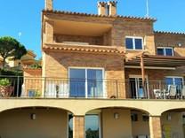 Дом с шестью спальнями с видом на море в Platja d Aro