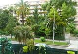 Двухкомнатная квартира с видом на парк в Ницце
