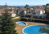 Вилла с видом на море в урбанизации с бассейном, район Boscos de Tarragona