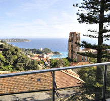 Трёхкомнатная квартира с видом на море в Босолей, продажа. №38871. ЭстейтСервис.