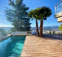 Стильный дом с шикарным видом на город и Allianz Riviera, продажа. №39521. ЭстейтСервис.