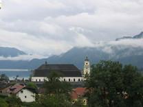 Дом с видом на озеро в Австрии