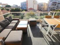 Новая квартира с двумя спальнями в Antibes