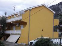 Квартира с двумя спальнями с видом на море в Прчани